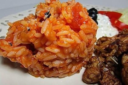 Griechischer Tomatenreis 8