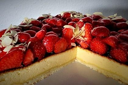 Erdbeer - Käsetorte 15