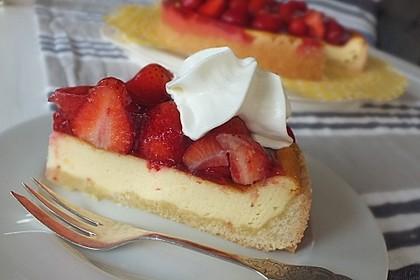 Erdbeer - Käsetorte 2