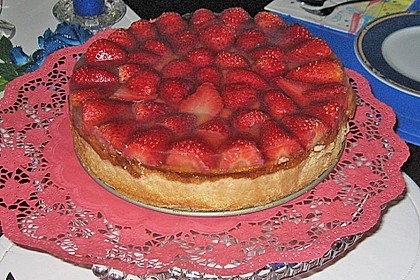 Erdbeer - Käsetorte 20