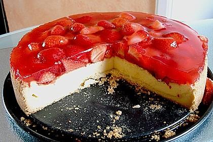 Erdbeer - Käsetorte 10