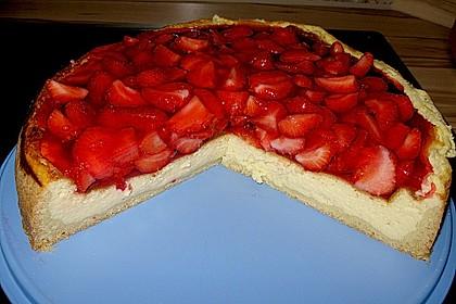 Erdbeer - Käsetorte 4