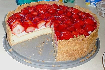 Erdbeer - Käsetorte 13