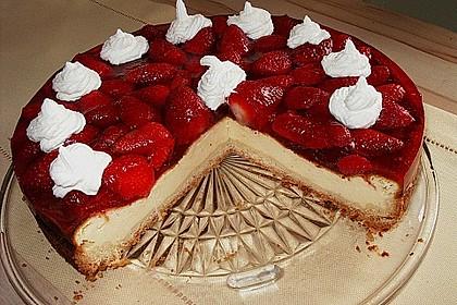 Erdbeer - Käsetorte 3