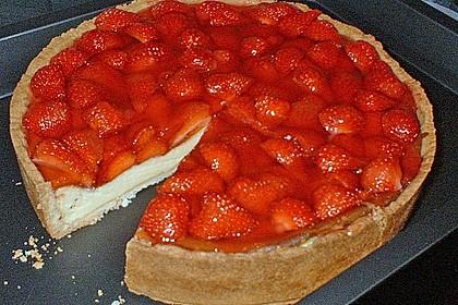 Erdbeer - Käsetorte 22