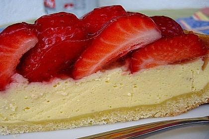 Erdbeer - Käsetorte 6