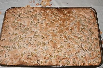 Rhabarberkuchen auf die fixe Art 2