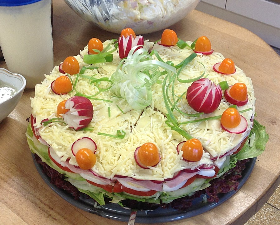 Salate zum abendbrot