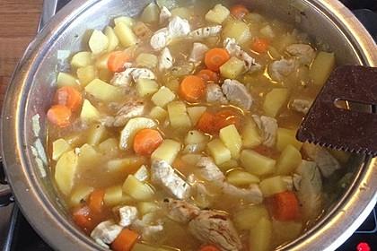 Feuriger Puten - Kartoffel - Topf 5