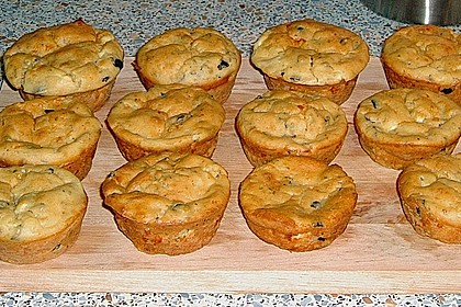Feta - Oliven - Muffins 4