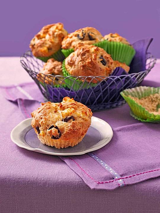 feta oliven muffins rezept mit bild von sissimuc. Black Bedroom Furniture Sets. Home Design Ideas
