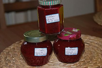 Erdbeermarmelade mit frischer Minze 8