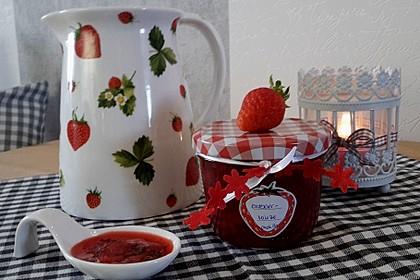 Erdbeermarmelade mit frischer Minze 1