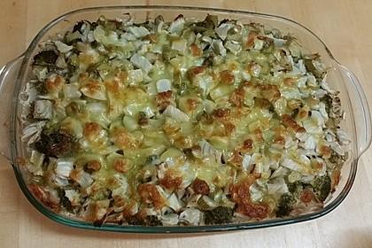 Brokkoli - Fenchel - Auflauf mit Kartoffeln 5