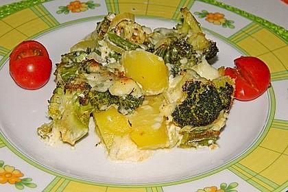 Brokkoli - Fenchel - Auflauf mit Kartoffeln 1