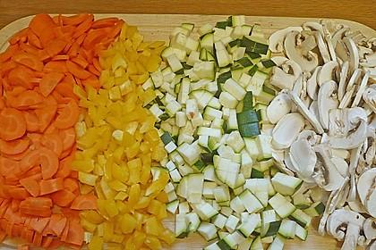 Gemüse - Lasagne vegetarisch 14