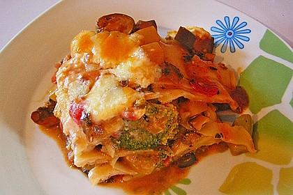 Gemüse - Lasagne vegetarisch 4