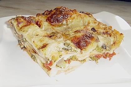 Gemüse - Lasagne vegetarisch 9