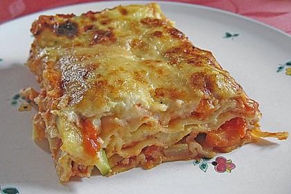 Gemüse - Lasagne vegetarisch 3