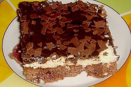 Schokoladen - Kokos - Kuchen 6