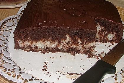 Schokoladen - Kokos - Kuchen 5