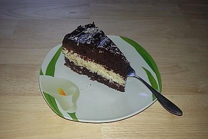 Schokoladen - Kokos - Kuchen 2