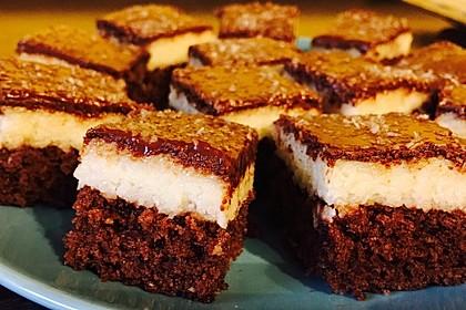 Schokoladen - Kokos - Kuchen 4