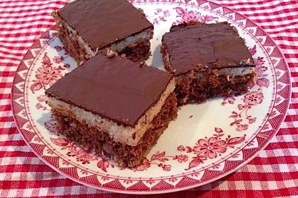 Schokoladen - Kokos - Kuchen 3