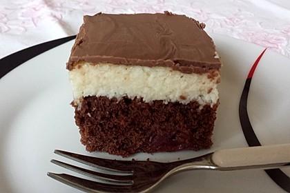 Schokoladen - Kokos - Kuchen 1