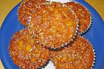 Bananenmuffins mit Walnuss - Topping 35