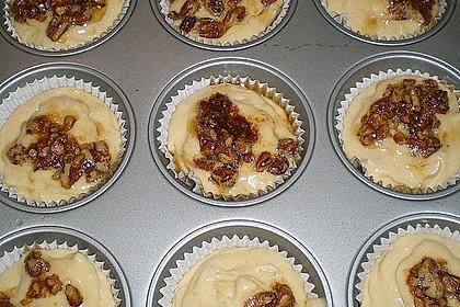 Bananenmuffins mit Walnuss - Topping 19