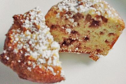 Bananenmuffins mit Walnuss - Topping 36