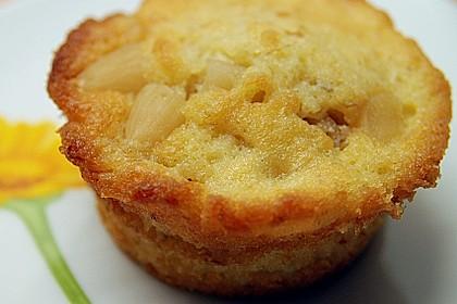 Bananenmuffins mit Walnuss - Topping 25