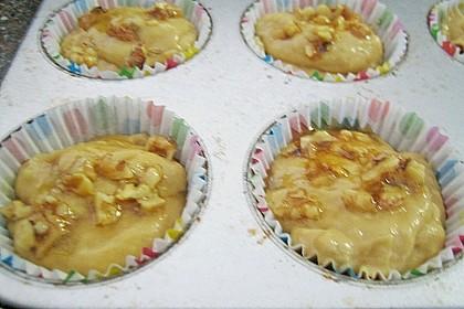 Bananenmuffins mit Walnuss - Topping 34