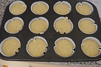 Bananenmuffins mit Walnuss - Topping 31