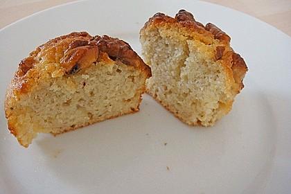 Bananenmuffins mit Walnuss - Topping 11