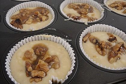 Bananenmuffins mit Walnuss - Topping 8