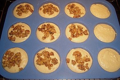 Bananenmuffins mit Walnuss - Topping 27