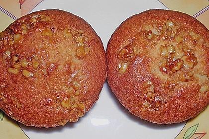 Bananenmuffins mit Walnuss - Topping 17
