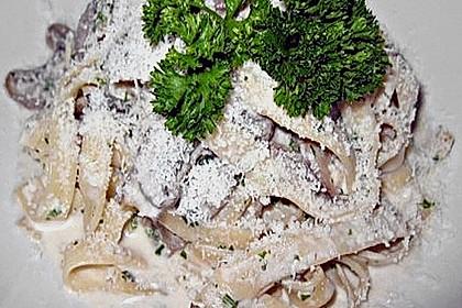 Tagliatelle funghi porcini 6