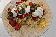 Fajitas mit Guacamole