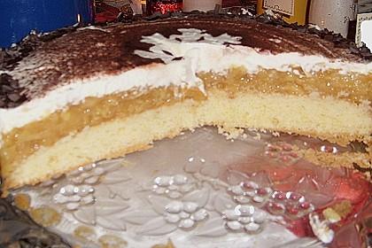 Schwedische Apfel - Sahne - Torte 8