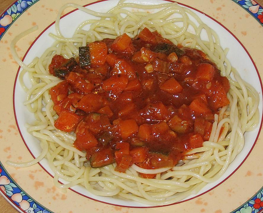 gem se bolognese mit spaghetti von marenlein. Black Bedroom Furniture Sets. Home Design Ideas
