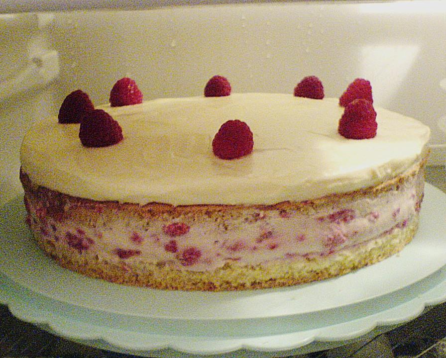 Himbeer mascarpone creme torte rezept