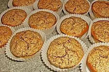 Marzipan - Muffins mit Amaretti - Haube