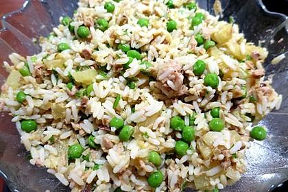Fruchtiger Reissalat (Bild)