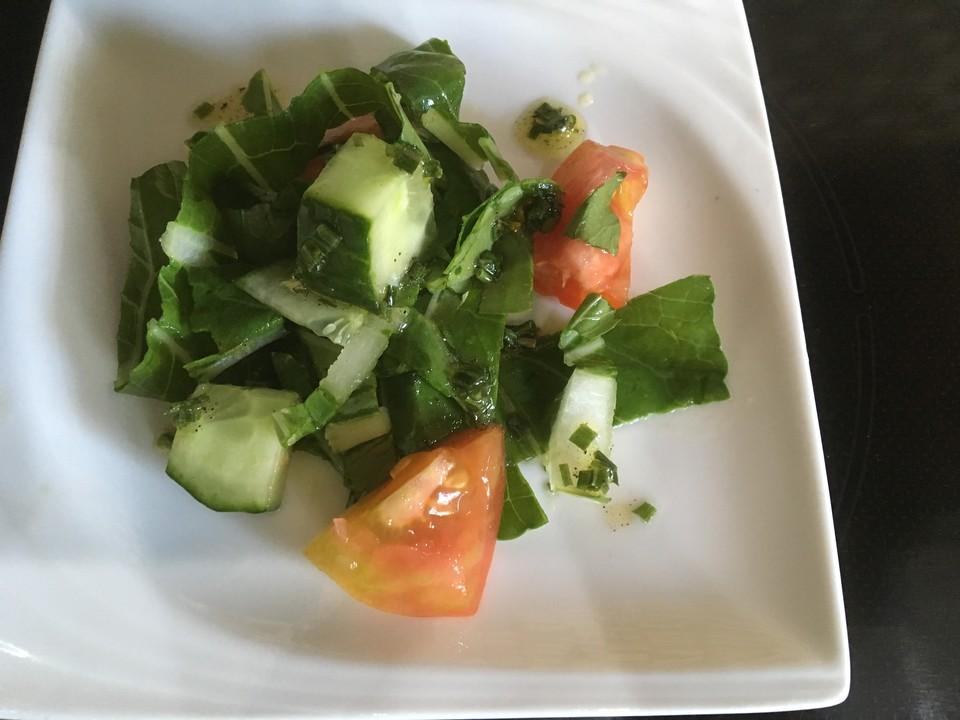 pak choi tomaten gurken salat von patty89. Black Bedroom Furniture Sets. Home Design Ideas