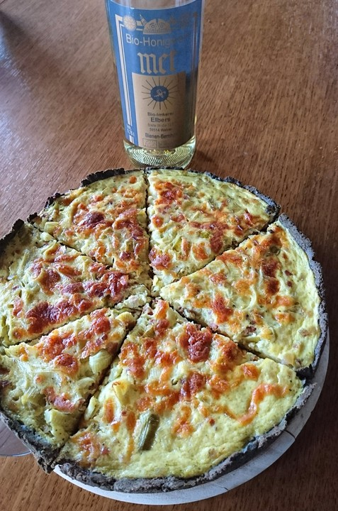 lowcarb quiche lorraine rezept mit bild von. Black Bedroom Furniture Sets. Home Design Ideas