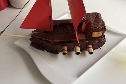 Piratenschiff Geburtstags Kuchen A La Dani Von Back Dani Chefkoch De