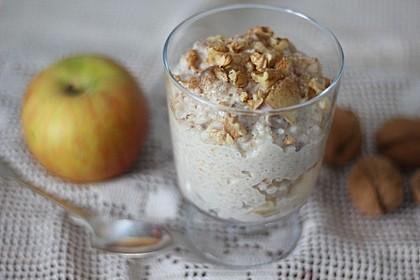 """Porridge à la """"Apfelstrudel"""""""